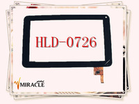 "Brand New All 7"" Tablet HLD-0726 silead_HLD_0726 Touch Screen Replacement Glass Digitizer JXD S6600 Ployer MOMO9 III Free Ship"