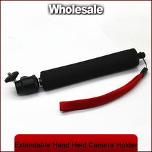 High quality flexible portable Monopod Extendable Hand Held Camera DV Camcorder Video Holder Self Photo Travel-black