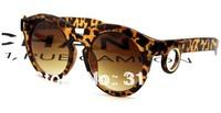 2014 new big round sunglasses, retro sunglasses tide personality Ms. Rivet men sunglasses