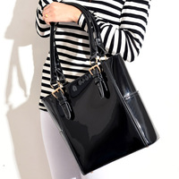 High Quality Promotional Women's Leather Handbag Fashion Trend OL Style Solid Color Women Shoulder Bags