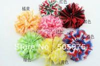 Baby Kids Hair Bow Hair Accessories Chiffon Flower Corsage