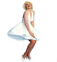 Marilyn Monroe sexy dress costume large size high quality fashion women's cosplay dress