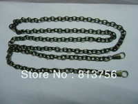 Antique Brass Chain 1.2 Meters Necklace - Small Link Antique Brass Plated Cable Chain Necklace