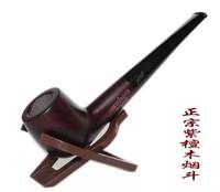 Free Shpping Briar black rosewood smoking pipe smoking set Medium handmade tobacco smoking pipe