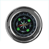 Stainless steel metal shell compass portable field american