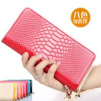 2013 women's handbag fashion all-match wallet embossed design long wallet multi-purpose handbag coin purse