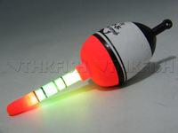 5pcs 15g EVA float + 10pcs Glow stick Fishing Floats Luminous Lighting Floats