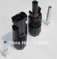 HOT SALE 2014 MC4 connector free shipping 50pair/lot  use for 2.5mm2/4mm2/6mm2  solar cable