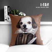 Earl creative cute cartoon cushion dog IKEA plush cushion  Plush pillow cover pillow cushion cover sofa cushions 45cm*45cm