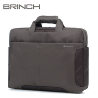 "BRINCH laptop bag computer bag 15"" inch notebook bag with Inner tank purple color BW-152"