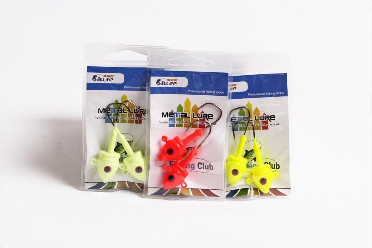 2pcs/bag five bags/lot (10pcs)free shipping New Arrival,High quality 28G metal lure jig head hook,fishing jig metal(jig28)(China (Mainland))