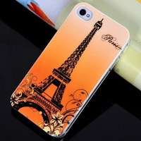Free Shipping Eiffel Tower Phone Case for iPhone 5/5S