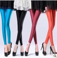 2014 spring new  fashion candy color slim legging neon plus size elastic pants korean  fashion wholesale