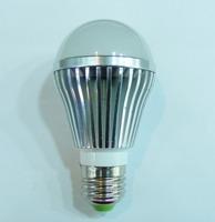 DHL Free shipping factory direct E27 screw 220V high light efficiency 12pcs/lot  5w led energy saving lamp bulb