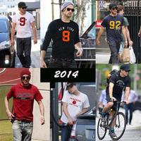 2014 New Retail CALIFORNIA TEE shirts men fashion TShirts PEDIDO CAMISETAS brasil T-Shirts male t shirts blouses short sleeve 3S