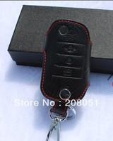 free shipping! gift! KIA K3 leather key chain, bag key ,case keyring ,key holder car accessories flip key