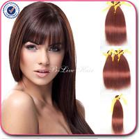 brazilian virgin hair straight human hair 33# 3 pcs lot free shipping brazilian straight hair unprocessed virgin brazilian hair
