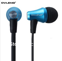 Free  shipping OVLENG / ovleng IP620 phone headset metal ear headphones earphone wholesale fashion brand