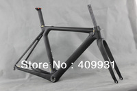 2014 newest aerodynamic 1050g,UD-matt,BB86 and DI2 compatiable carbon road bike frame AERO007