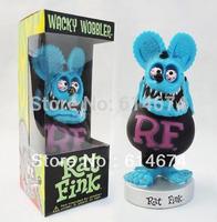 17cm RAT FINK FUNKO blue  POP vinyl model  hot items Collection