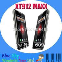 Original Refurbished mobile phone Motorola Droid Razr Maxx XT912 16G Storage Wifi GPS Bluetooth Free Shipping