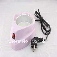 Hot selling Free shipping Mini Shape Professional 220V -240V  Paraffin Therapy + Paraffin Spa + Manicure Warmer Pot For Salon