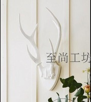 100% Genuine brand Entranceway resin antlers wall mural deer wall