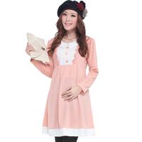 Quality maternity clothing winter fashion maternity dress maternity winter one-piece dress yunfuzhuang