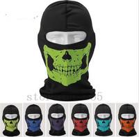 Athletic Cycling Riding Motorcycle Reflective Skull Balaclava Hood Full Warm Neck Scarf Face Ski Protector Mask