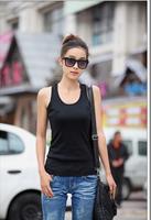2014 Fashion Women's Bodycon Tank Top Summer  Lace Back Women Vest Sleeveless T-Shirt Women Clothing Plus size FR8740