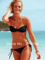 Free Shipping New Arrival victoria bikini swimwear push up bikini sexy swimwear women vs bikini vs swimwear bandage swimsuit