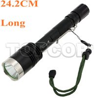 5pcs/lot,1500 Lumens CREE XM-L Q5 5-Mode LED Flashlight warerproof Torch Lamp shocker light