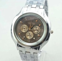 Business watch fashion personality atmosphere quartz watch men steel band watches wholesale