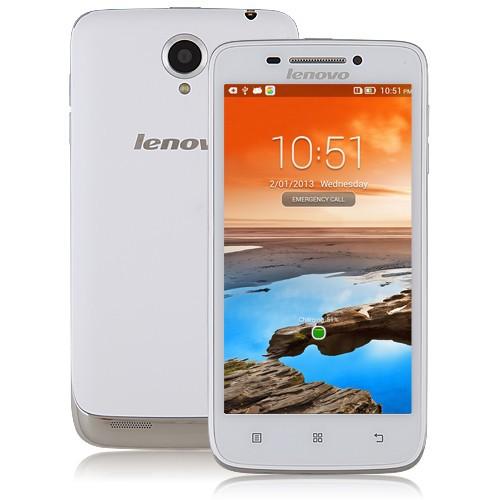 Lenovo s650 Atmosphäre 4.7 zoll 3g original telefon mtk6582 Quad-Core 1,3 GHz Android 4.2 1gb 8gb dual kamera 8.0mp dual sim