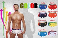 New 2014 high quality man boxers & boxer pants & flag underwear and men's trousers & underwear men & mens underwear boxers