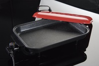 Electric hotplate sf-1350w buzhanguo barbecue plate baking pan barbecue pan fish plate fish pot