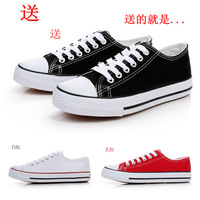 2013 men's low casual canvas shoes male fashion skateboarding shoes trend cotton-made lovers shoes