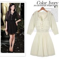 Fashion Women 2014 Clothes High Street Cute Dresses For Woman Summer Dress Brand Free Shipping A0004