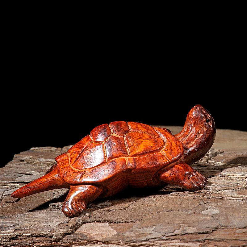 เต่าไม้แกะสลักงานฝีมือ