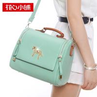 spring 2014 -  vintage candy color one shoulder cross-body women's handbag  - 120708b  women bag designer