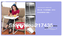 Bed Mate Portable Table,Bed Tray Table, Adjustable bed table ,foldable easy take bed home desk table as seen on tv