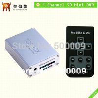 Free Shipping 1CH Car Video Recorder Mini Portable Car DVR KD-203