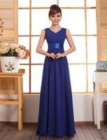 free shipping New 2014  long design slim evening dress long design party dress navy blue prom dresses