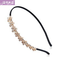 Hair accessory small flower rhinestone hair bands headband accessories hair pin