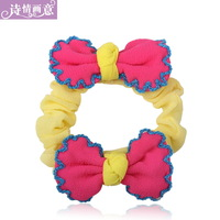 Hair accessory headband bow hair accessory hair accessory hair rope tousheng hair rubber band