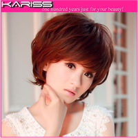 The Newest 5 colors On sale Full straight wigs Lovely Hair wigs for women with Bangs GWD0004 Free shipping
