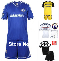 new 2014 13-14 Chelsea home football kit football shirt soccer training suit soccer jerseys Lampard Drogba Torres