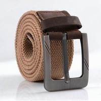 New Tactical Pin Buckle Canvas Belts for Men Canvas Strap Casual Belt Male Genuine Leather Canvas Belt Mens Fashion