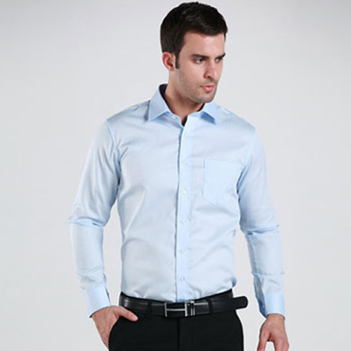 Mens Light Blue Shirt | Is Shirt
