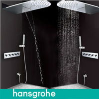 Hansgrohe hansgrohe ufo concealed shower set wall tentorial shower